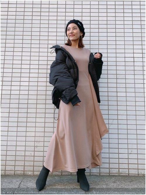女性の高身長コーデ方法